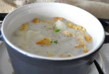 snow days potato soup
