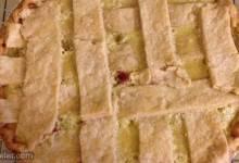 sour cream gooseberry pie