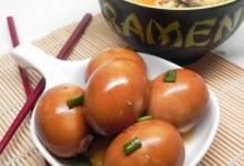 soy eggs (shoyu tamago)