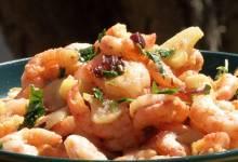 spanish pan-fried shrimp with garlic