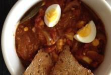 spiced egg curry