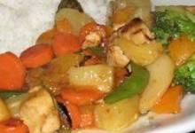 Spicy Apricot Chicken Stir-Fry