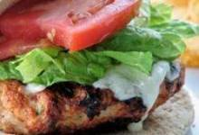 Spicy Chipotle Turkey Burgers