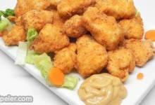 Spicy Extra-Crispy Fried Popcorn Chicken