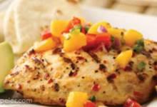 Spicy Grilled Chicken with Mango Salsa