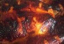 spicy honey-roasted chicken