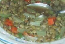 Spicy Lentil Vegetable Soup