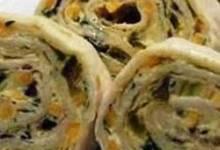 spicy tortilla roll-ups