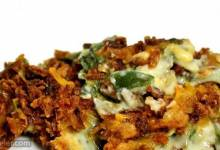 spinach-green bean casserole