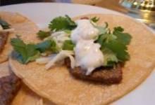 Steak Tacos with Spicy Yogurt Sauce