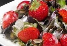 Strawberry Onion Salad