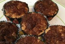 streusel-topped muffins