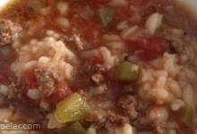 Stuffed Pepper Soup V
