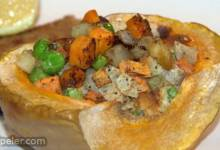 Stuffing-Filled Pumpkin
