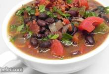 Stupendous Chipotle Black Bean Soup