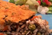 Super Veggie Chicken and Wild Rice Casserole