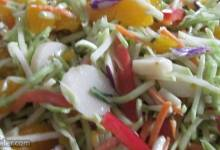 sweet and crunchy salad