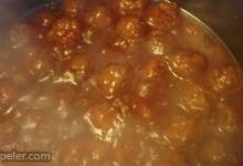 Sweet and Sour Meatballs V