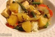 Sweet and Sour Tofu Veggies