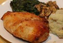 Sweet Mustard Chicken Bake