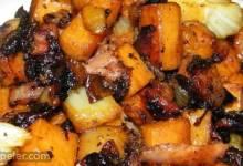 Sweet Potato and Fennel Hash