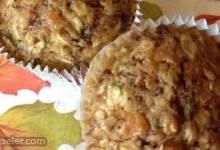Sweet Potato Zucchini Muffins