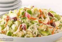 Sweet & Tangy Apple Coleslaw