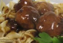 Sweet Tomato Meatballs