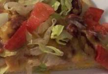 Taco Pie Pizza