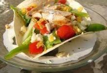 Taco Salad with Ranch Dressing
