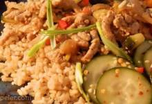 Taiwanese Ground Pork and Pickled Cucumbers