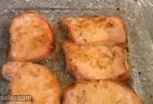 talian Breaded Baked Pork Chops