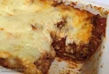 talian Sausage Lasagna