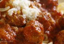 talian Spaghetti Sauce with Meatballs
