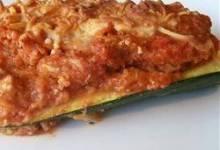 talian Stuffed Zucchini