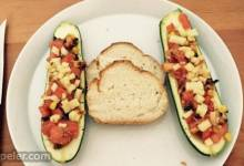 talian-Style Stuffed Zucchini  (Kid-Friendly)