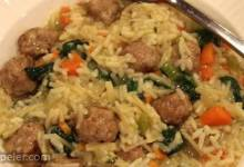 talian Wedding Rice with Sausage