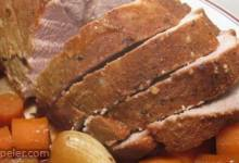 Tender Slow Cooked Pork Roast