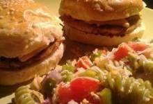 Teriyaki Chicken Burgers
