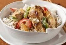 Thai Curry Chicken and Rice