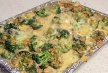 Thanksgiving Broccoli and Cheese Casserole