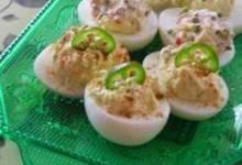 The Devil's Own Deviled Eggs