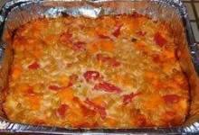 Three Cheese Macaroni with Tomatoes