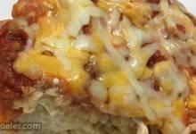 Three Cheese Spaghetti Pie