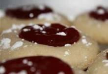 thumbprint shortbread cookies
