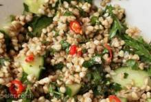 Toasted Buckwheat Tabbouleh