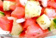 Tomato Cucumber Onion Salad