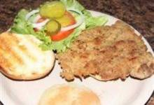 traditional ndiana breaded tenderloin sandwich