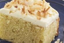 Triple Coconut Cake