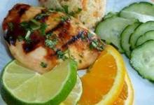 Tropical Grilled Chicken Breast